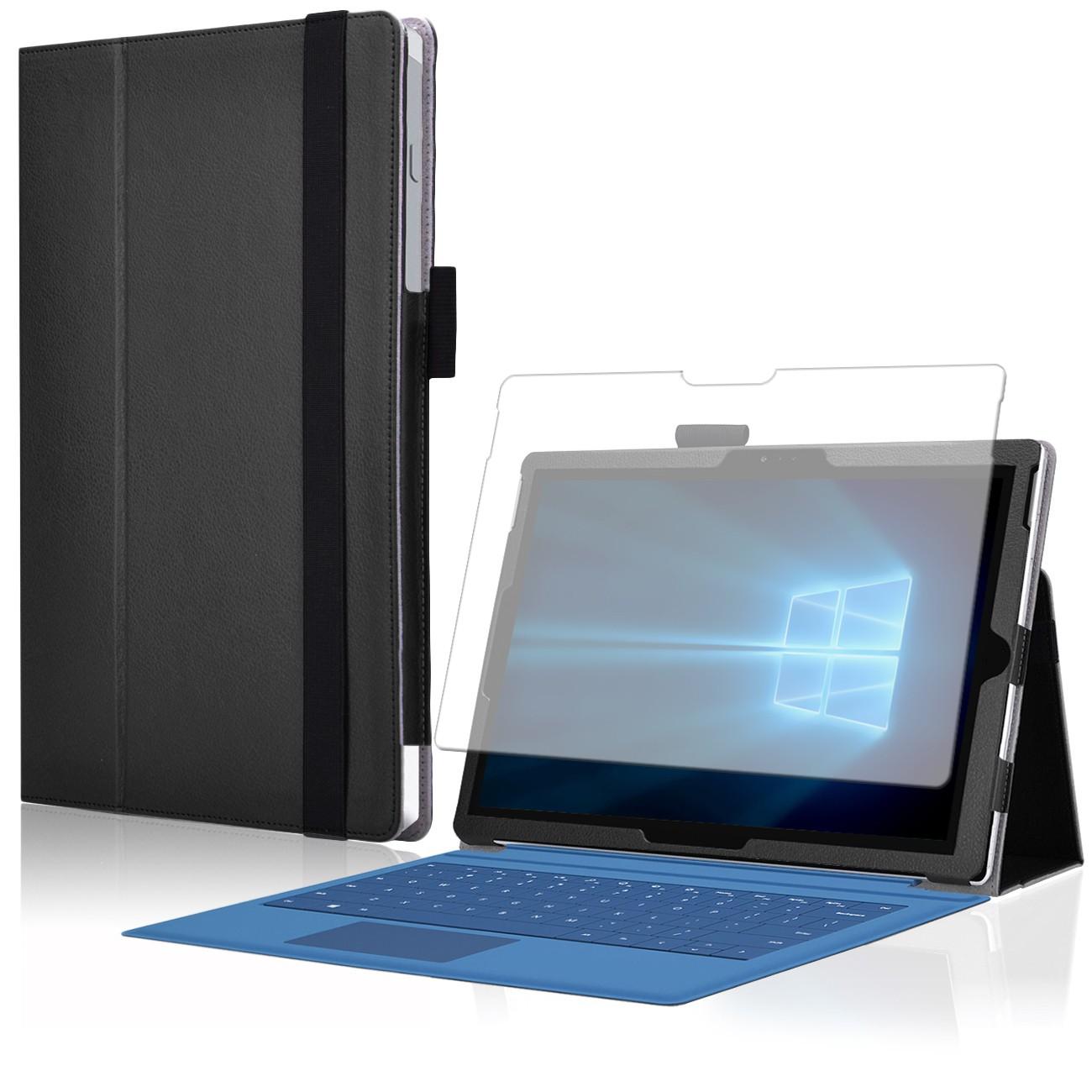 Microsoft surface pro 4 cover tasche mit praktischer stand funktion