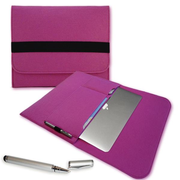 laptop tasche f apple macbook pro h lle cover filz 13 3. Black Bedroom Furniture Sets. Home Design Ideas