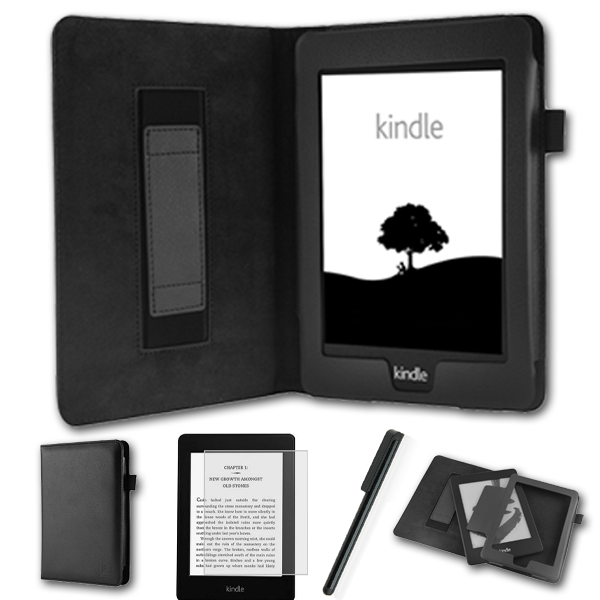 tasche f r amazon kindle paperwhite h lle wake sleep cover. Black Bedroom Furniture Sets. Home Design Ideas