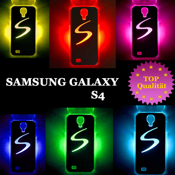 samsung galaxy s4 i9500 led cover farbwechsel h lle. Black Bedroom Furniture Sets. Home Design Ideas